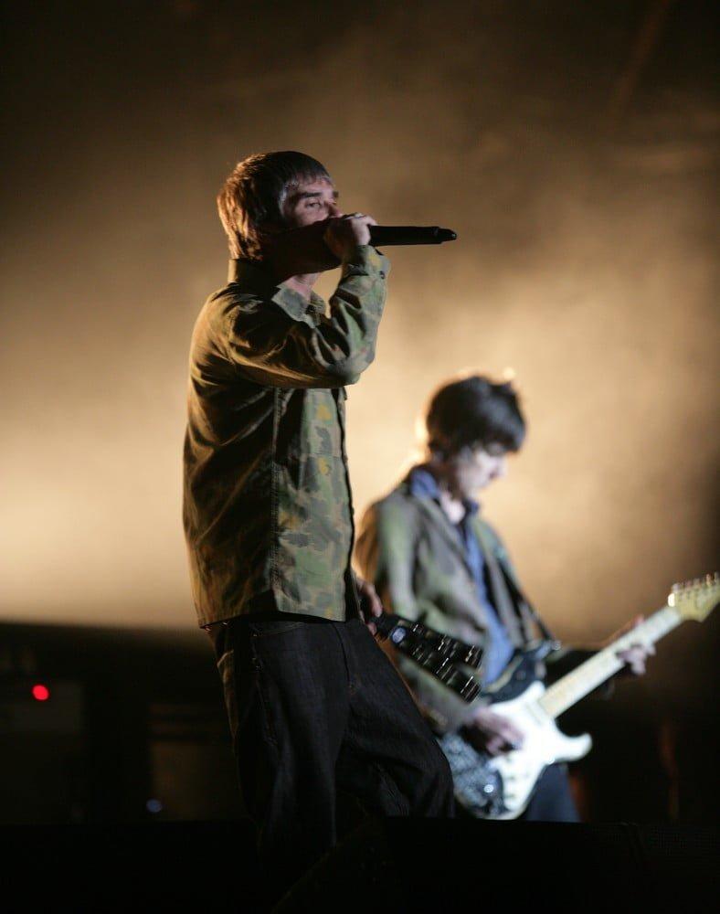 The Stone Roses konsert i Belfast i 2017